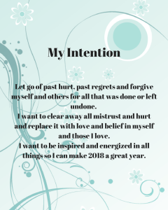My Intention
